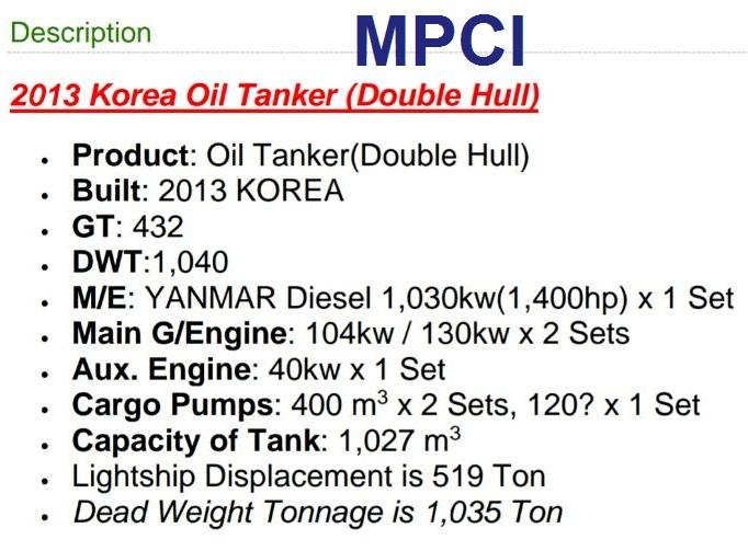 MPCI oil tanker (1)